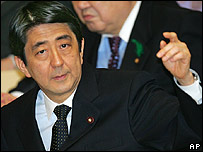 Japanese Prime Minister Shinzo Abe. File photo