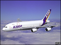 Freight version of the Airbus A380