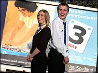 Rachel Hanna and Jamie Bowie