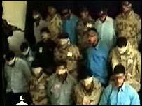 صورة لـ18 مختطفا نشرها احد المواقع