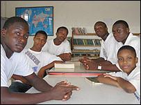 Aaron Gyening, James Owusu, Samuel Afeeva, Crispin Antwi, Isaac Aryee, Karim Gayle