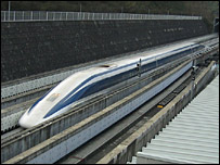 Japan Rail maglev train (Copyright: Tomoyasu Yoshikawa)