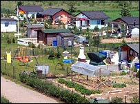 Allotments in Germany (Photo: Wikipedia)