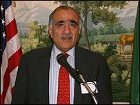 Ambassador Mahmud Ali Durrani