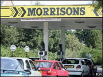 Morrisons petrol station