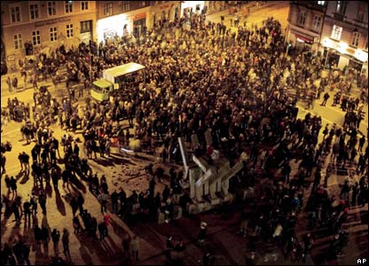 Danish riots on 3 March