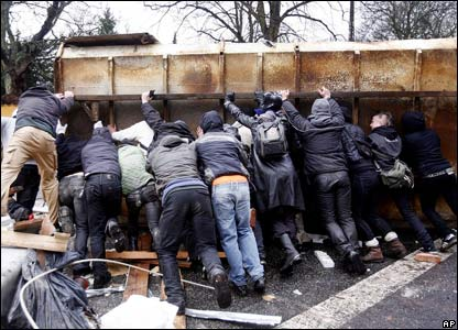 Danish riots on 1 March