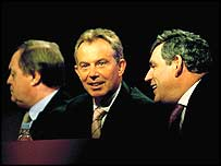Tony Blair and colleagues