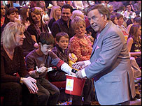 Terry Wogan at Children In Need 2004
