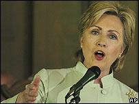 Hilary Clinton in Selma, Alabama