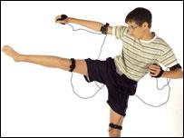 The Xpad Bodypad game controller