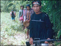 Backpack medics in Karen state in Burma