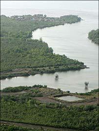 Nigerian oil delta