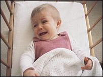 Beb� llorando