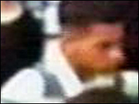 CCTV image of clubber