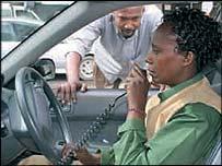 Dial-a-Cab taxi driver
