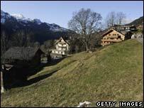 Wengen ski resort, Switzerland