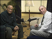 Harry Belafonte with Stephen Evans