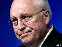 US Vice-President Dick Cheney in March 2007