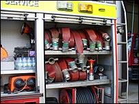 Fire engine hoses