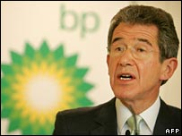 BP chief executive Lord Browne