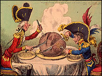 Gillray's Plumb Pudding in danger � Lord Kenneth Baker