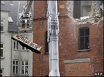 Demolition of squat