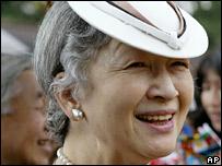 Empress Michiko, seen here in June 2006
