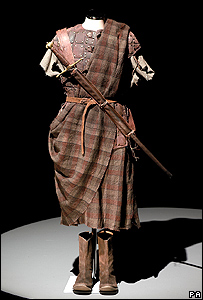 William Wallace costume from Braveheart