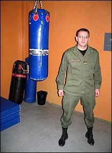 Capt Berat Shala, head of the academy