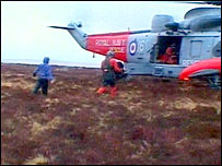 Dartmoor rescue