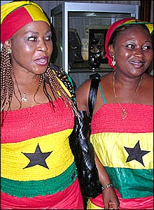 Jennifer Yaroh and Susan Lamptey