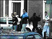 Dutch football hooligans