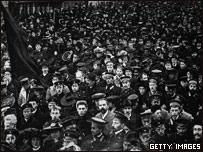 Митинг в Петрограде