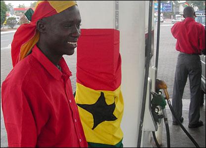 Petrol attendant Eugene Attafuah