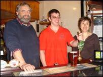 Wyn, Berwyn and Beryl Hughes