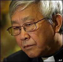 Bishop of Hong Kong, Cardinal Zen