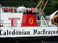CalMac Barra Oban Lochboisdale Mallaig Donald Manford