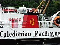 CalMac Barra Oban Lochboisdale Mallaig Donald Manford