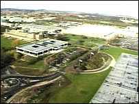 Aerial view of Boots site
