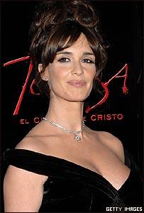 """Paz Vega en la premiere de """"Teresa, el cuerpo de Cristo""""."""