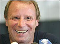 Nigeria coach Berti Vogts