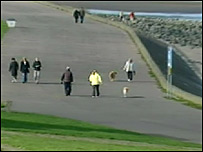 Promenade on Edinburgh's Marine Drive