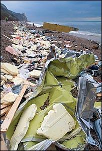Napoli wreckage