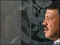 King Abdullah of Jordan in Washington