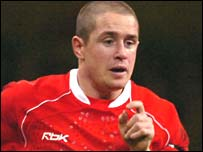Wales winger Shane Williams