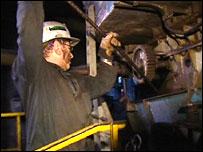 A Polish miner