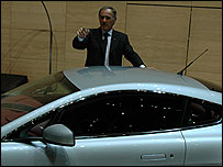 Aston Martin chief executive, Ulrich Bez