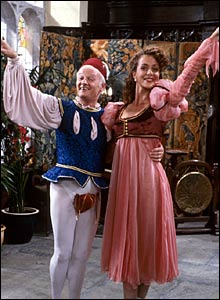 John Inman and Joanne Heywood