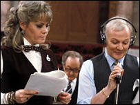 Wendy Richard and John Inman